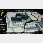 Navigation zu Fuss in Muenchen 3D