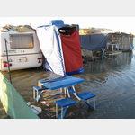 Plage-de-Piemanson nach der Flut