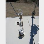 07041934-Veligandu Hauptanker Bügel mit elektr.Winsch und 8mm Kette 50m