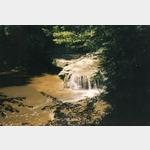 Wasserfall der Laiblach bei Hergensweiler