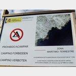 Campingverbot im Küstenbereich