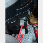 Anschluss defekte Wasserpumpe