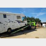 Marokko März . 2012 Garage in Agadir vom ADAC empfohlen