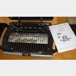 kleiner kompakter tisch gas grill gs 6724 330161. Black Bedroom Furniture Sets. Home Design Ideas