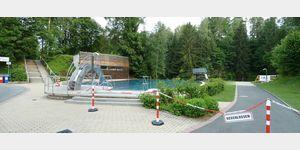 1 - Naturschwimmbad Goldbergsee in Marktschorgast
