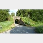 6 - Unterführung an der ältesten Eisenbahn-Steilrampe Europas mit Lokomotivbetrieb