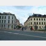 16 - Blick zurück in die Petersstraße in Freiberg