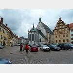 9 - Blick auf den Dom und das Stadt- und Bergbaumuseum in Freiberg