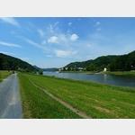 11 - Blick auf Bad Schandau an der Elbe