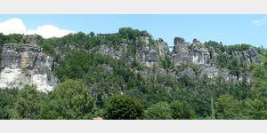 13 - die Bastei bei Rathen