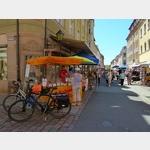 4 - Salamieinkauf in der Altstadt von Pirna