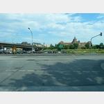2 - Dresden, Blick auf die Carolabrücke und das ehemalige Königliche Ministerium des Inneren