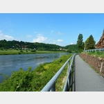 6 - Elberadweg zw. Meißen und Riesa
