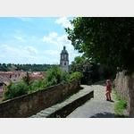 18 - auf dem Weg von der Albrechtsburg in Meißen zum Marktplatz