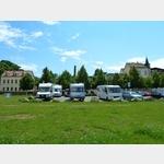 13 - Riesa, kostenloser Wohnmobilparkplatz