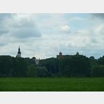 10 - Blick auf Stadtkirche und Burg von Strehla an der Elbe