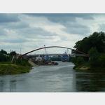13 - Blick hinein in den Elbehafen bei Riesa