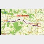 0 - Fahrt von Riesa über Oelsitz und Strehla nach Torgau