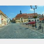 1 - Strehla, Blick auf Rathaus und Marktplatz