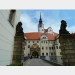 17 - Torgau, Eingang zum Schloss Hartenfels