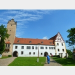 3 - Strehla, Burg, Ansicht von außen