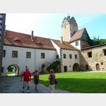 5 - Strehla, Burg, Innenansicht