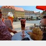 5 - Torgau, Eisdiele am Rathausplatz