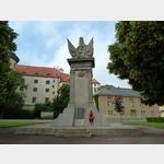 4 - hier vereinigten sich 1945 in Torgau die Rote Armee mit den US-Truppen