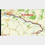 1 - Radtour vom Stellplatz Wittenberg nach Schützberg und zurück