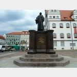 30 - Melanchtondenkmal in Wittenberg