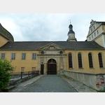8 - Coswig, Haupteingang zum Schloss Coswig