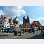 6 - Markttag am Rathaus in Wittenberg