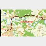 0 - Fahrt vom Stellplatz Coswig zum Stellplatz Dessau am Flugplatz
