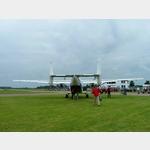 6 - Heck und Absprungluke der Antonov AN-28 für die Fallschirmspringer
