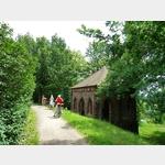 15 - Wallschutzhaus am Elberadweg im Gartenreich Dessau-Wörlitz