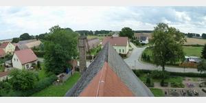 11 - Blick auf Steckby vom Turm der St. Nicolaikirche