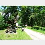 15 - Mittagsrast am Ortsende von Steckby am Elberadweg