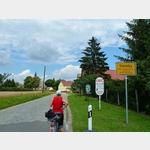 6 - Elberadweg, Ortsanfang Steckby