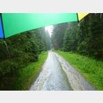 33 - starker Regen auf Rückweg vom Brocken