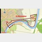 0 - Wanderung vom Stellplatz Höxter zum Kloster Corvey