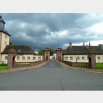 9 - Toranlage von Schloss Corvey bei Höxter
