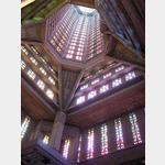 Le Havre, Kirche St. Joseph Buntglasfenster