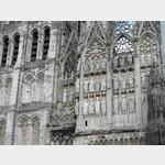 Rouen, Fassade Kathedrale Notre Dame